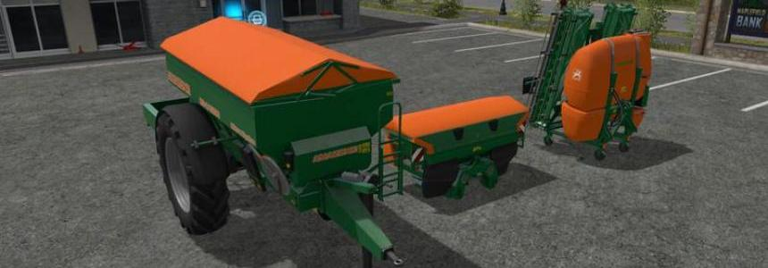 Amazone fertilizer sprayer Modpack V2.0 Orange