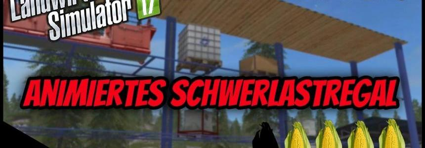 Animated Schwerlastregal v1.1 GE