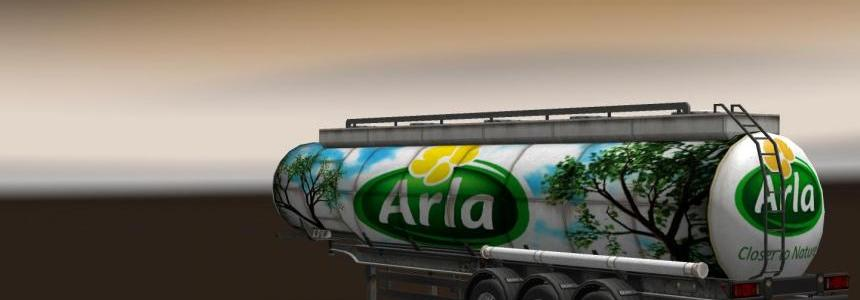 Arla Milk Trailer V1.0