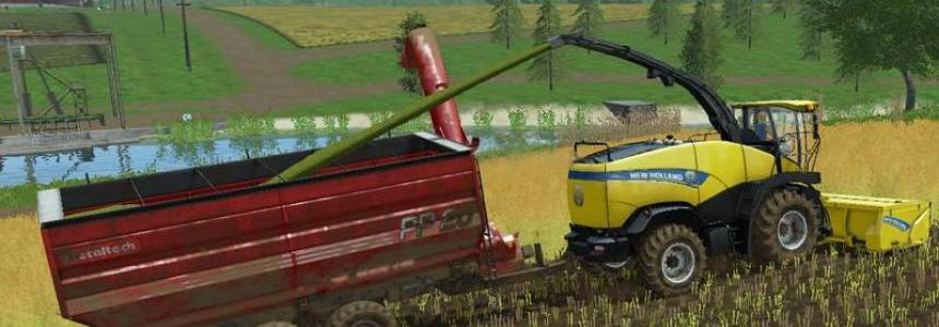AugerWagon for Woodchips & Chaff v4.0
