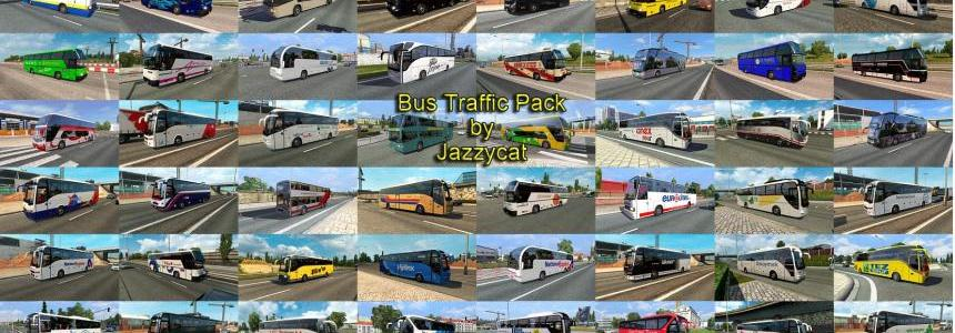 Bus Traffic Pack by Jazzycat v1.5