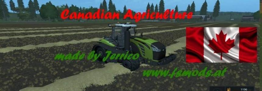Canadian Agriculture map v1.1 chopped Straw