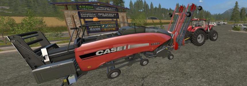 CaseIH LB334 Nadal R90 Baler + Raker v1.0