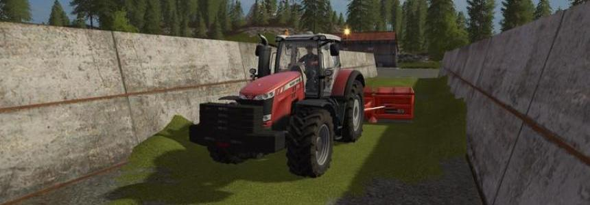 Claas weight 1800kg with addable weights v1.0