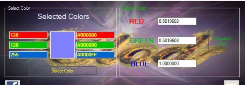 Color Converter v1.0