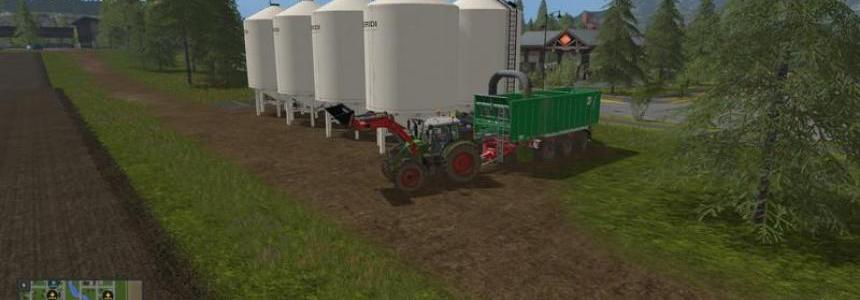 Cow silo for placement in GE v1.1