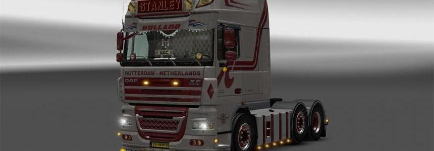 DAF XF 105 by Stanley v1.3 – Update + templates