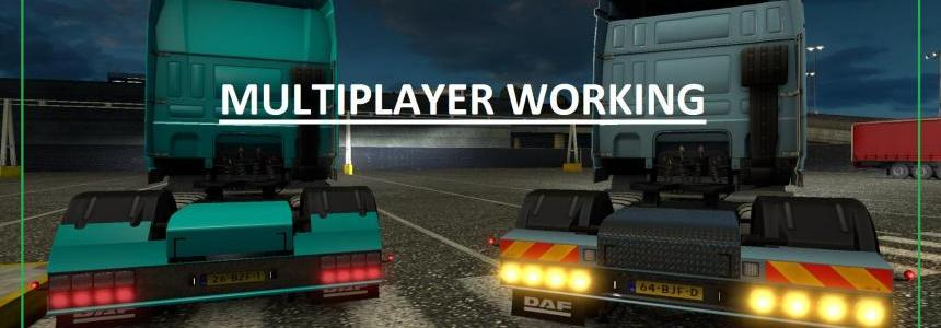 DAF XF Rear Bumper (Working-Multiplayer) V2