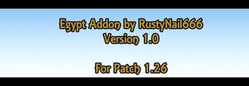Egypt addon for 1.26 v1.01