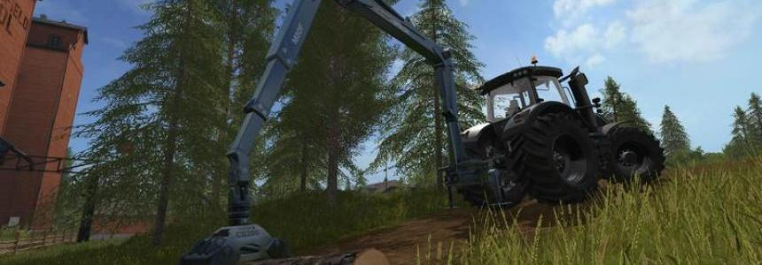 Epsilon Palfinger M80F Mounted Crane for Tractors v1.0