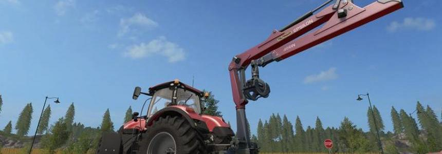 Epsilon Palfinger M80F Mounted Crane for Tractors v1.1