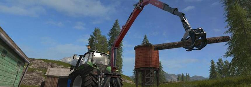 Epsilon Palfinger M80F Mounted Crane for Tractors v1.2