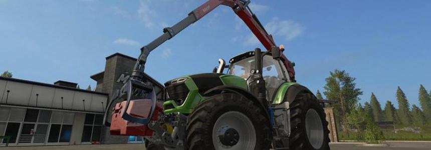 Epsilon Palfinger M80F Mounted Crane for Tractors v1.3