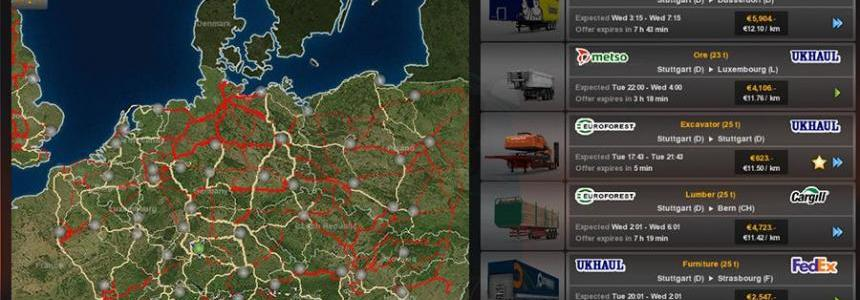 ETS2 Colour Map 1.25.3