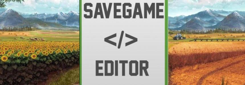 Farming SImulator 17 SaveGameEditor v1.0
