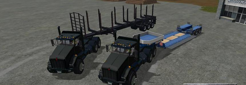 FDR Logging - Log Trailer, Low Bed, Log Truck [V1]