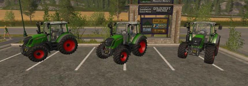 Fendt 300 Vario with beaconLights v1.0