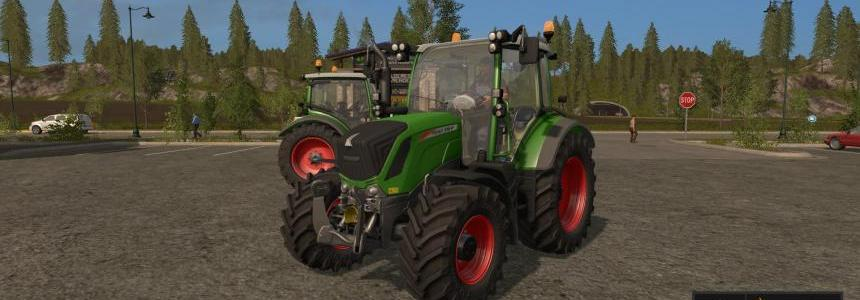 Fendt 300 Version Gyrophares ! V1.0.0