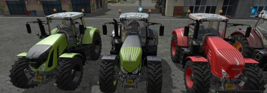 Fendt 900 Vario Extreme with full color selection v550er