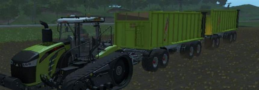 Fliegl 4-axle tipper v1.0