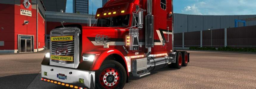 Freightliner Classic XL v2.1 for 1.26 -1.25