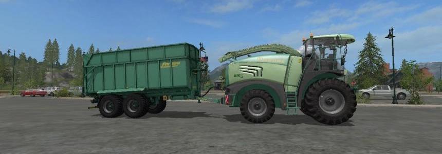 FS17 Krone Big X 480 and fortuna FTM200 6 0 v1.2 By Eagle355th
