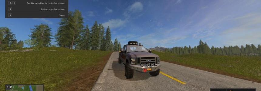 FS17MOD FordF250 KingRanch With lights