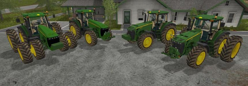 John Deere 8520/8530 USA pack v1.0