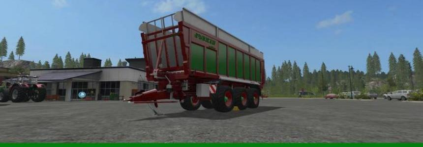 Joskin Dakkar red-green edition v1.0