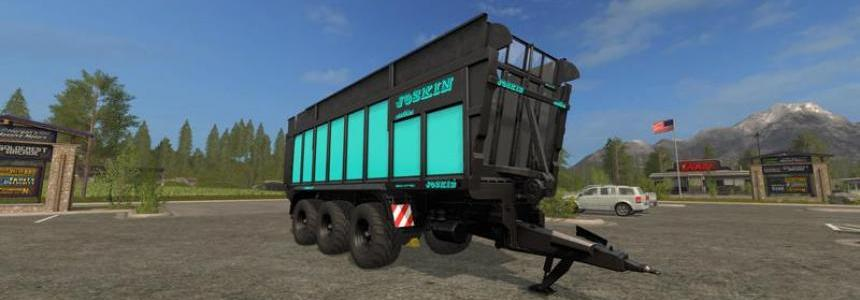 Joskin Drakkar 8600 Blue Black Edition v1