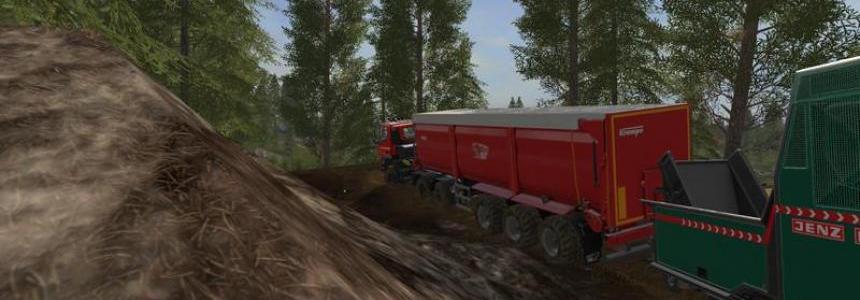 Krampe Bandit SB 30/60 with trailer hitch v1.0
