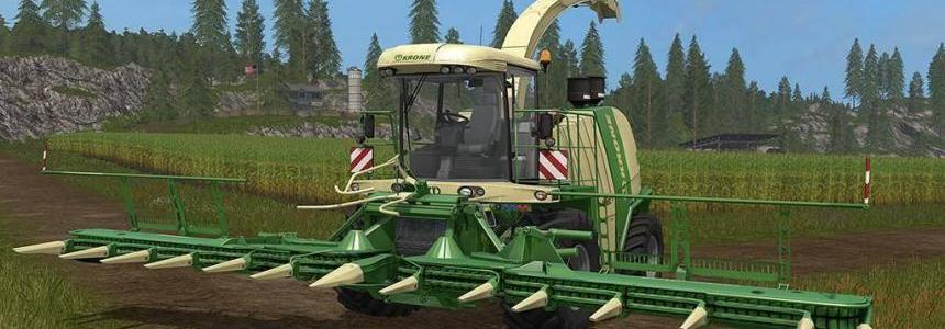 Krone BiG X 1100 & Krone EasyCollect 1053