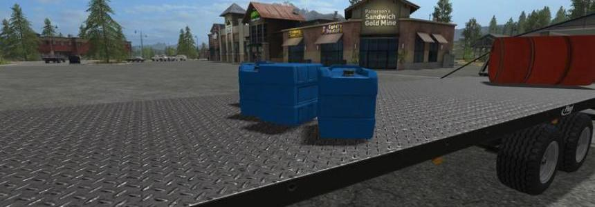 Liquid Fertilizer tank for handwork v1.0