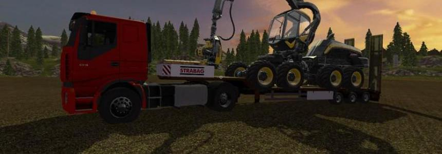 Lowboy in Strabag Look v1.0