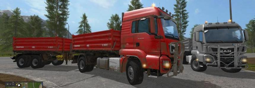 MAN TGS 18.440 Tipper Pack v1.0