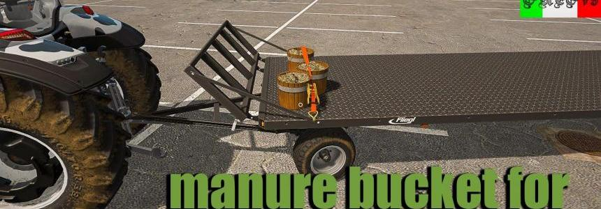 Manure bucket for Handwork (filled) v1.2