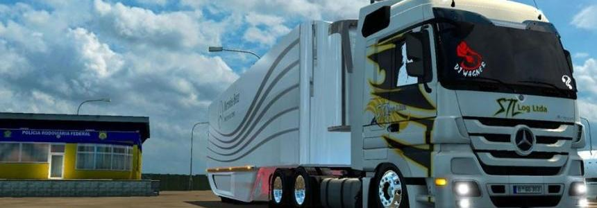 MB Actros By Canal YT INTRUSO