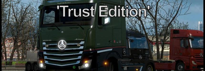 Mercedes-Benz Actros MP4 Trust Edition v1.0