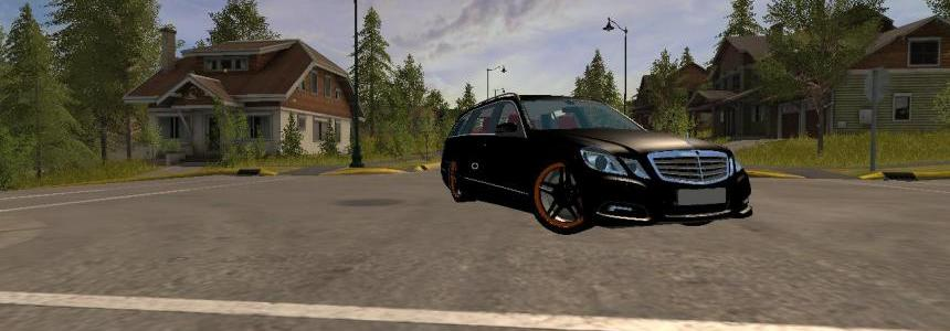 Mercedes E350 German-Look by Messieur Hugo