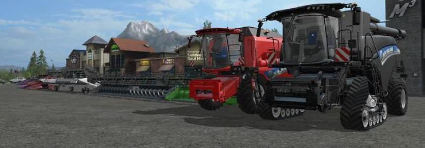 New Holland Harvester Dyeable Beta