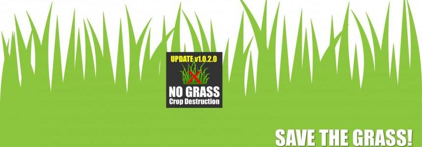 No Grass Crop Destruction - Update v1.0.2.0