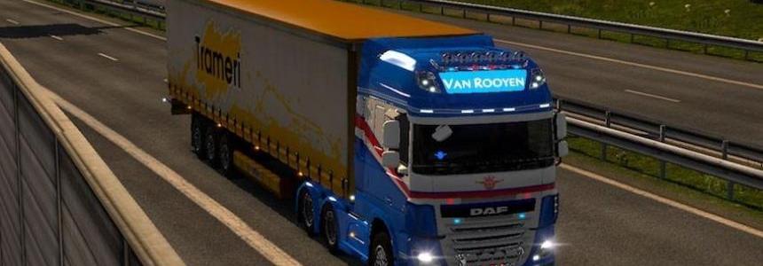 Ohaha DAF XF E6 Van Rooyen (Netherlands) Skin