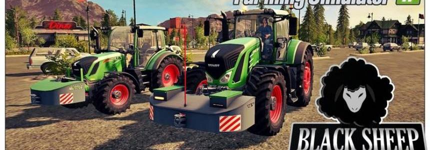 Pack 2 Front weight AGRI-WELD with Fuel v1.0.1 Fix
