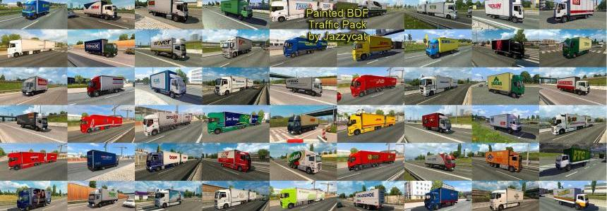 Painted BDF Traffic Pack by Jazzycat v1.4