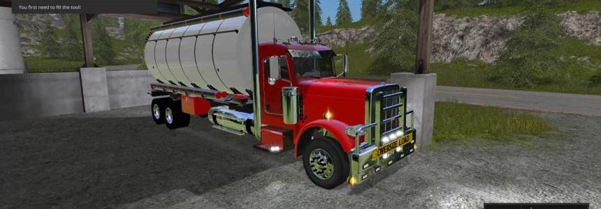 Peterbuilt 388 Water Tanker v1