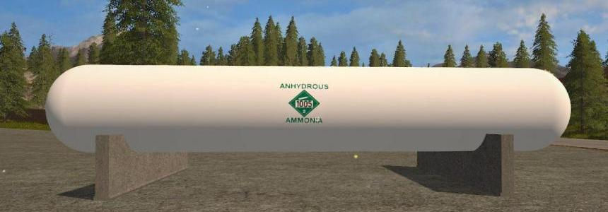 Placeable Anhydrous Fertilizer Refill Tank v1.0