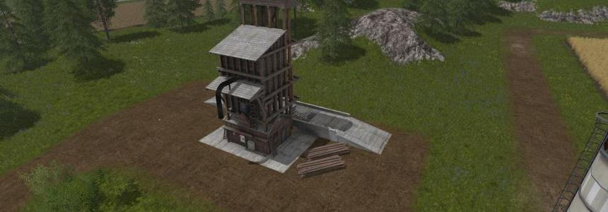 Placeable - WoodChip Storage v1.0