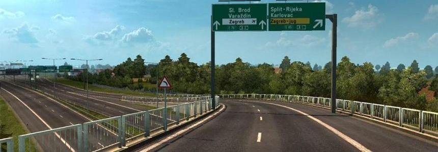 Project Balkans v2.2: ProMods addon for 1.25.x