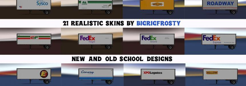 Real American LTL Shortbox Skinpack v1.0