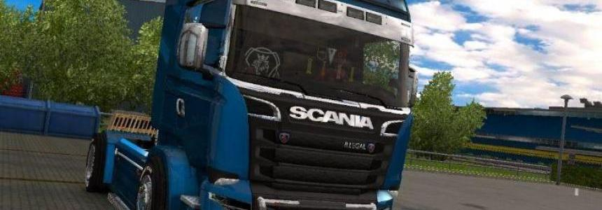 Scania illegal V8 New 1.25.x